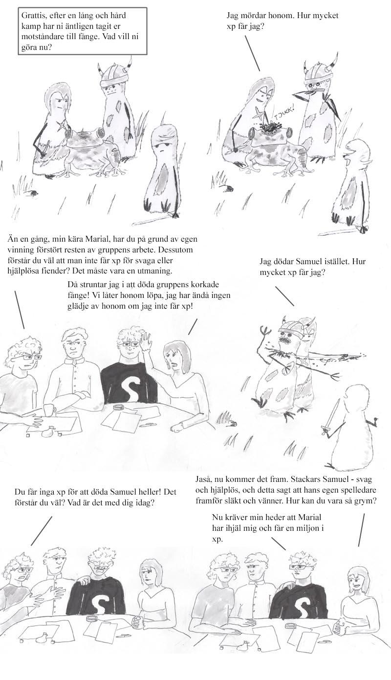 Webcomic 1 till 4