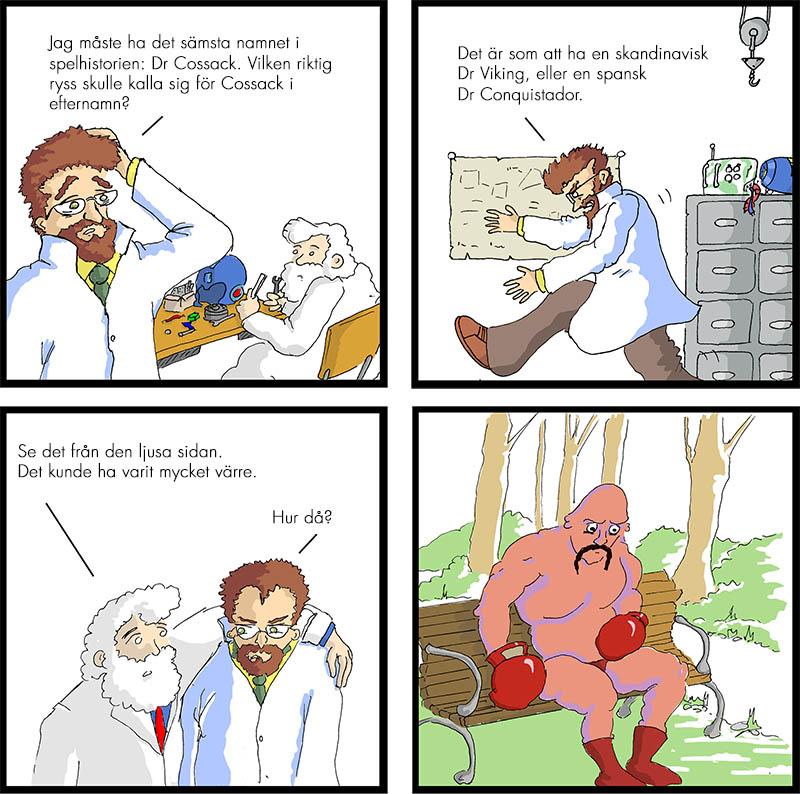 Dr Cossack