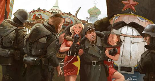 Illustration av Magnus Fallgren.