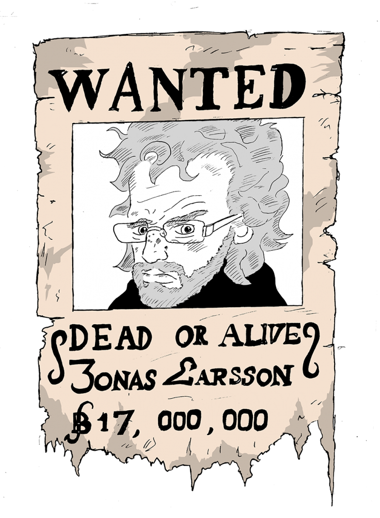 Wanted-Larsson