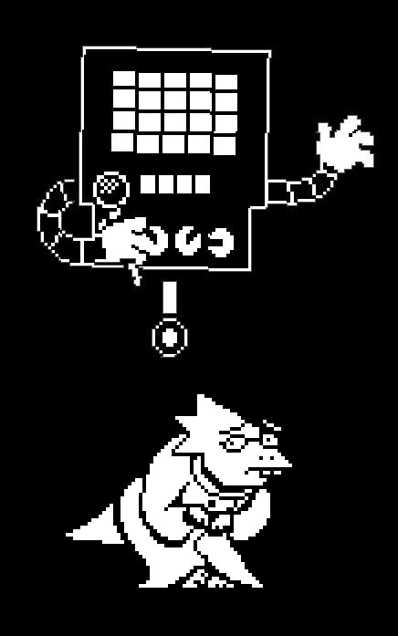 alphys and mettaton
